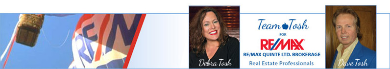 Debra Tosh - ReMax Real Estate Professional.